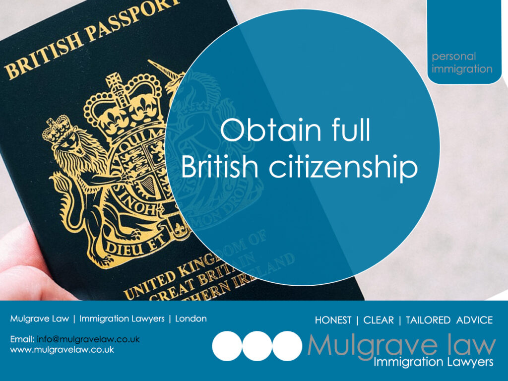 I'm I Eligible To Apply For A BNO (British National (Overseas) Visa; And Do I Need Specialist Immigration Advice? British Passport